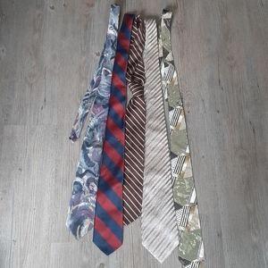 5 Vintage Ties